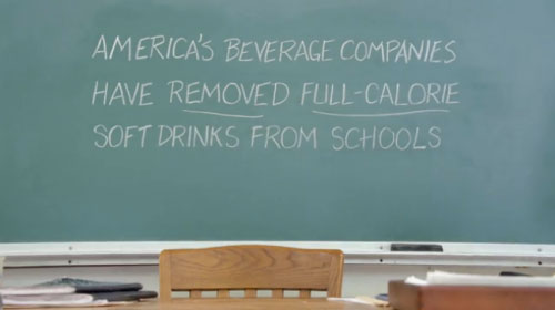 America's beverage companies have removed full-calorie soft drinks from schools